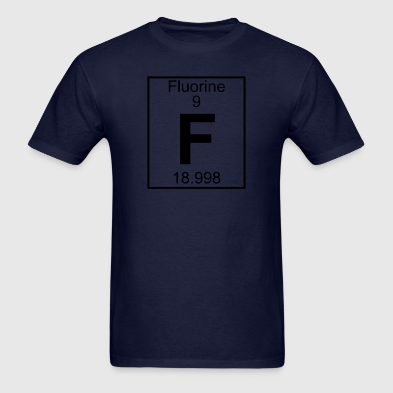 Element 9 - F (fluorine) - Full T-Shirts - Men's T-Shirt