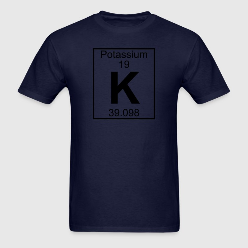 Element 019 - K (potassium) - Full T-Shirts - Men's T-Shirt