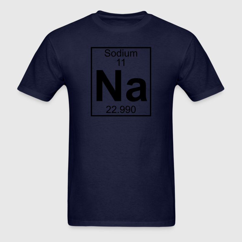 Element 11 - Na (sodium) - Full T-Shirts - Men's T-Shirt