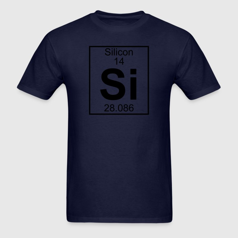 Element 014 - Si (silicon) - Full T-Shirts - Men's T-Shirt