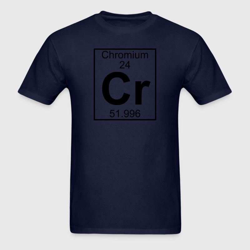 Element 024 - Cr (chromium) - Full T-Shirts - Men's T-Shirt