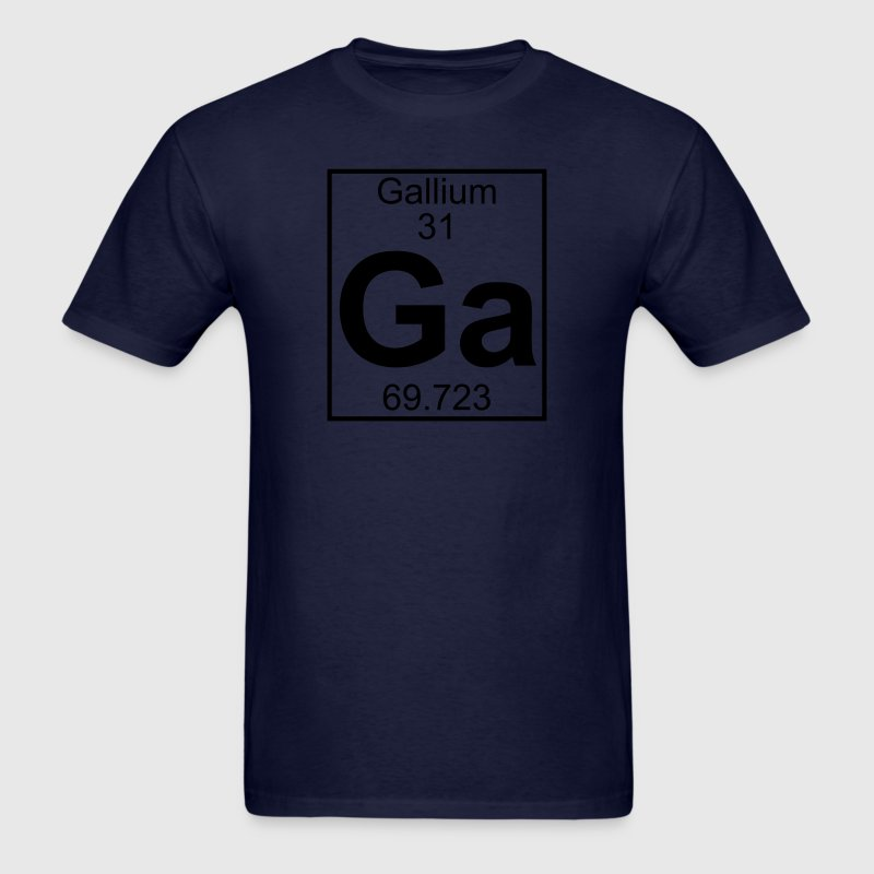 Element 031 - Ga (gallium) - Full T-Shirts - Men's T-Shirt
