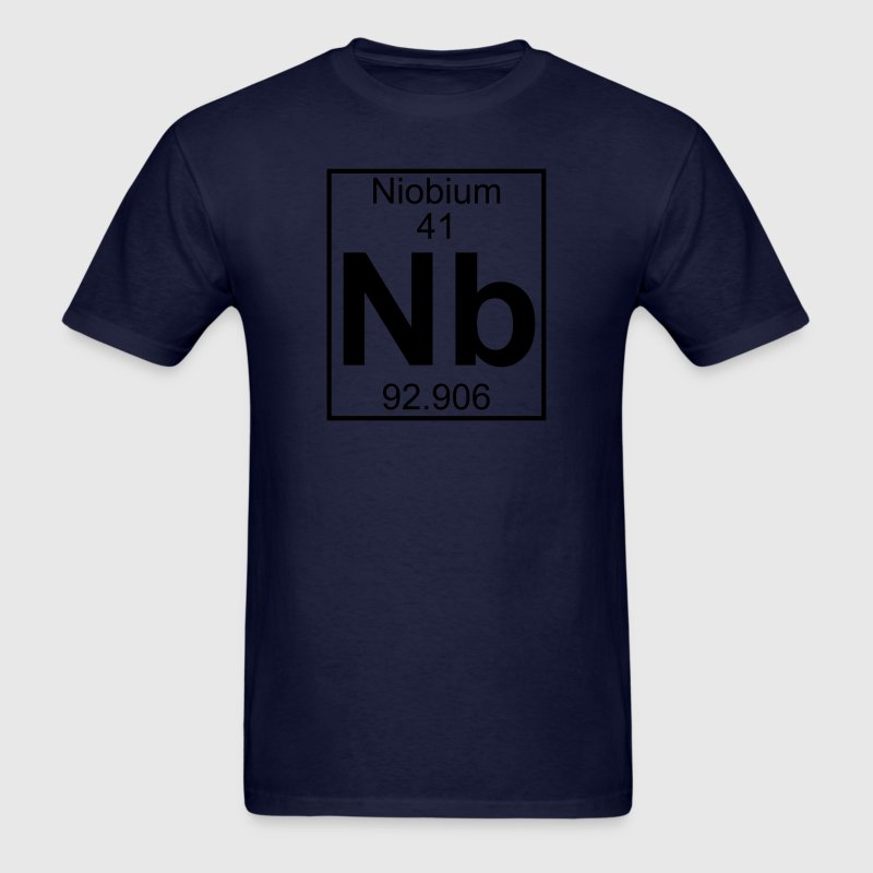 Element 041 - Nb (niobium) - Full T-Shirts - Men's T-Shirt