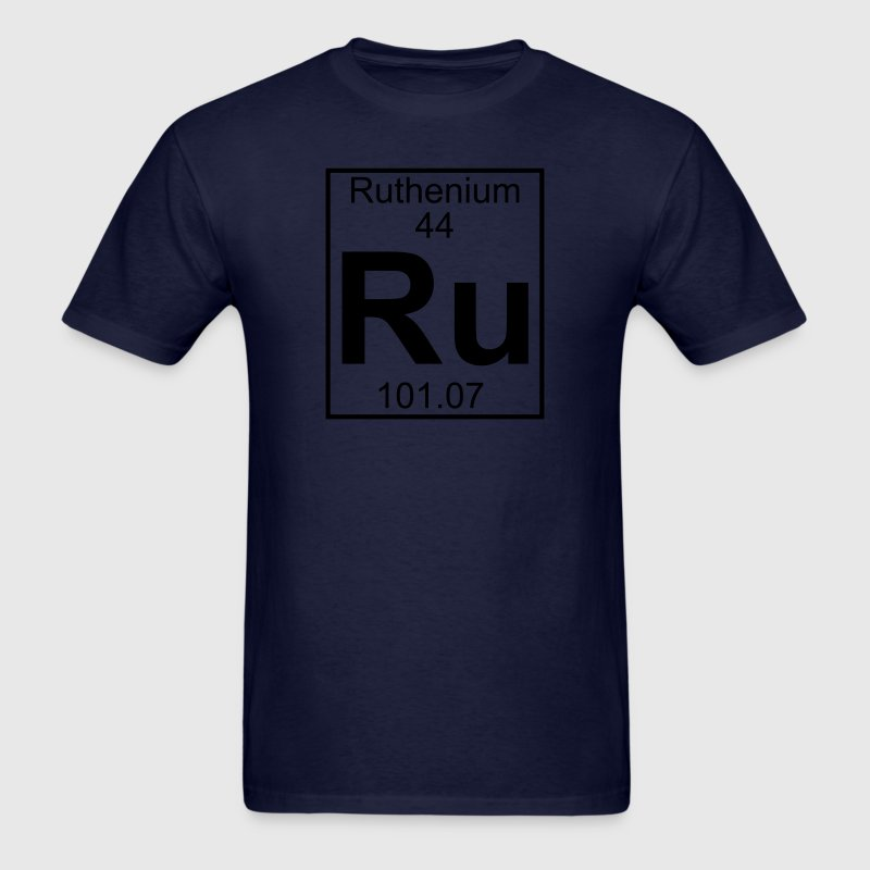 Element 044 - Ru (ruthenium) - Full T-Shirts - Men's T-Shirt