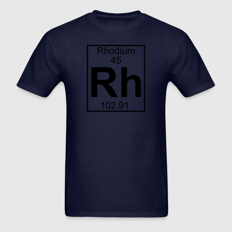 Element 045 - Rh (rhodium) - Full T-Shirts - Men's T-Shirt