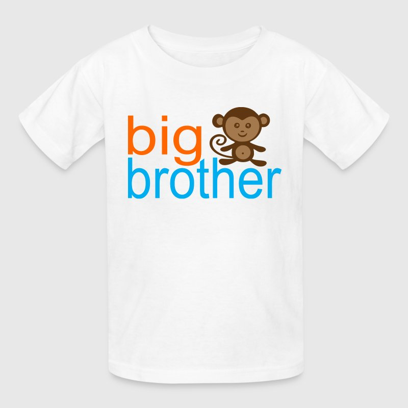 Big Brother -Monkey Kids' Shirts - Kids' T-Shirt