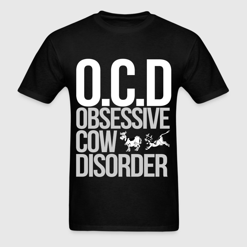 obsessive cow disorder - Men's T-Shirt