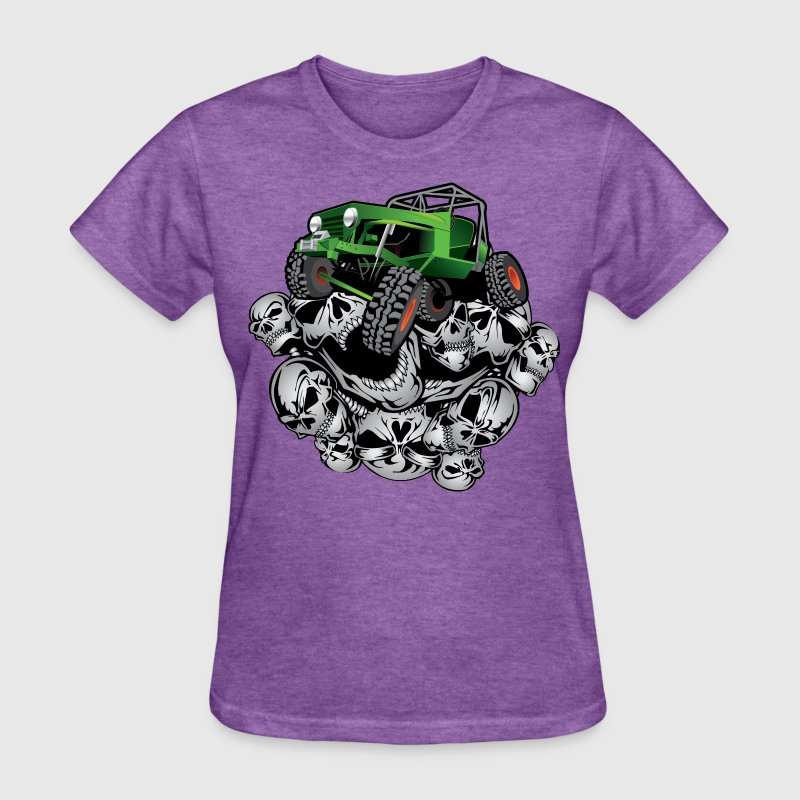 The Green Grim Jeeper Women's T-Shirts - Women's T-Shirt