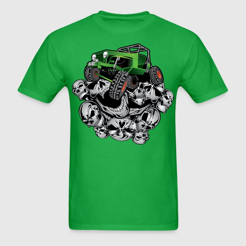 The Green Grim Jeeper T-Shirts - Men's T-Shirt