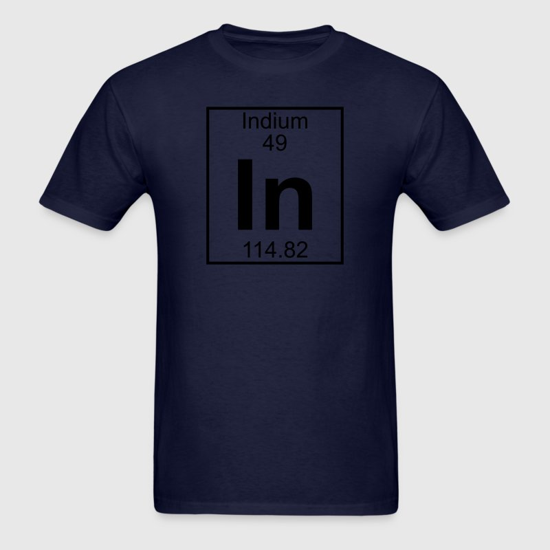Element 49 - In (indium) - Full T-Shirts - Men's T-Shirt
