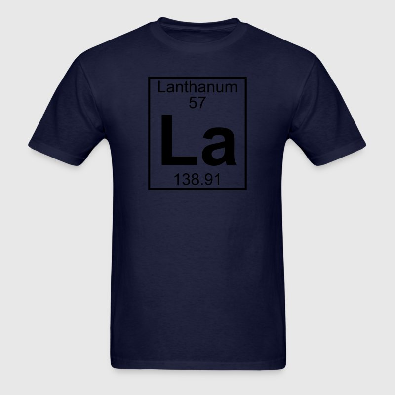 Element 57 - La (lanthanum) - Full T-Shirts - Men's T-Shirt