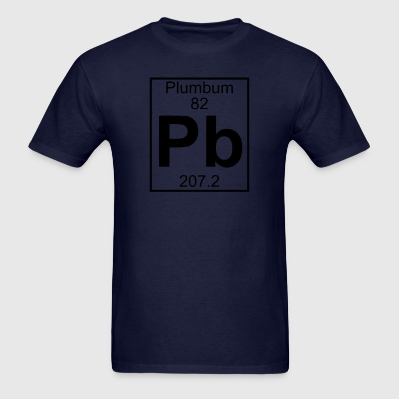 Element 82 - Pb (plumbum) - Full T-Shirts - Men's T-Shirt