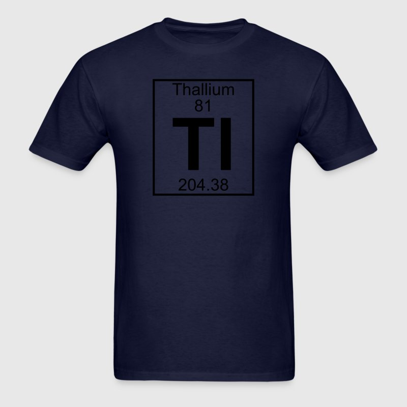 Element 81 - Tl (thallium) - Full T-Shirts - Men's T-Shirt