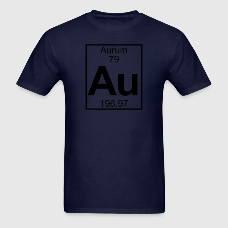 Element 79 - Au (aurum) - Full T-Shirts - Men's T-Shirt