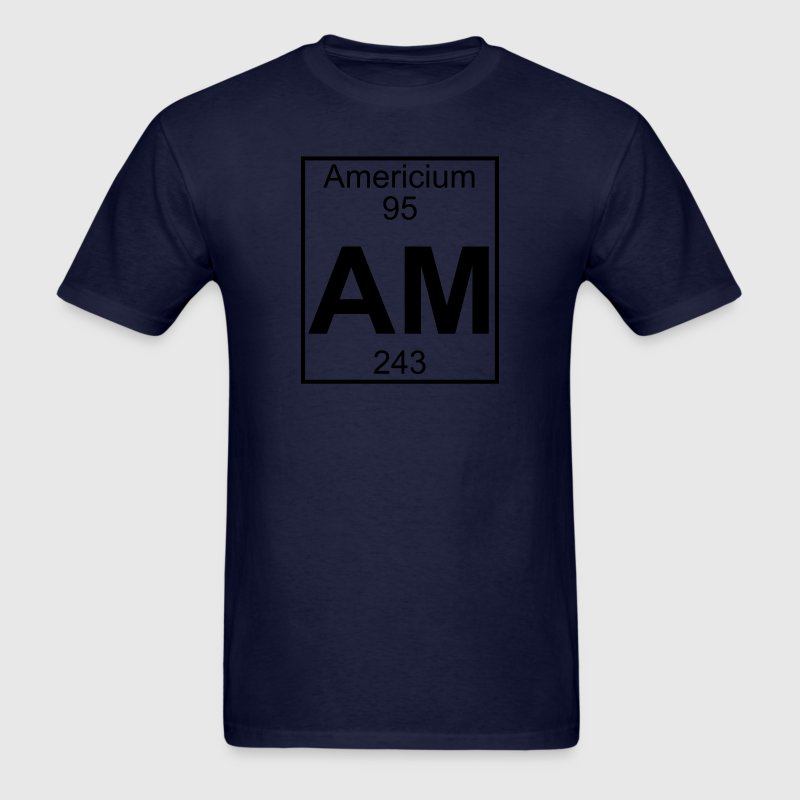 Element 95 - am (americium) - Full T-Shirts - Men's T-Shirt