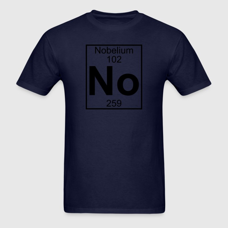 Element 102 - no (nobelium) - Full T-Shirts - Men's T-Shirt