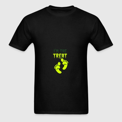 I'm the TREAT Halloween Double design ogre feet  Baby & Toddler Shirts - Men's T-Shirt