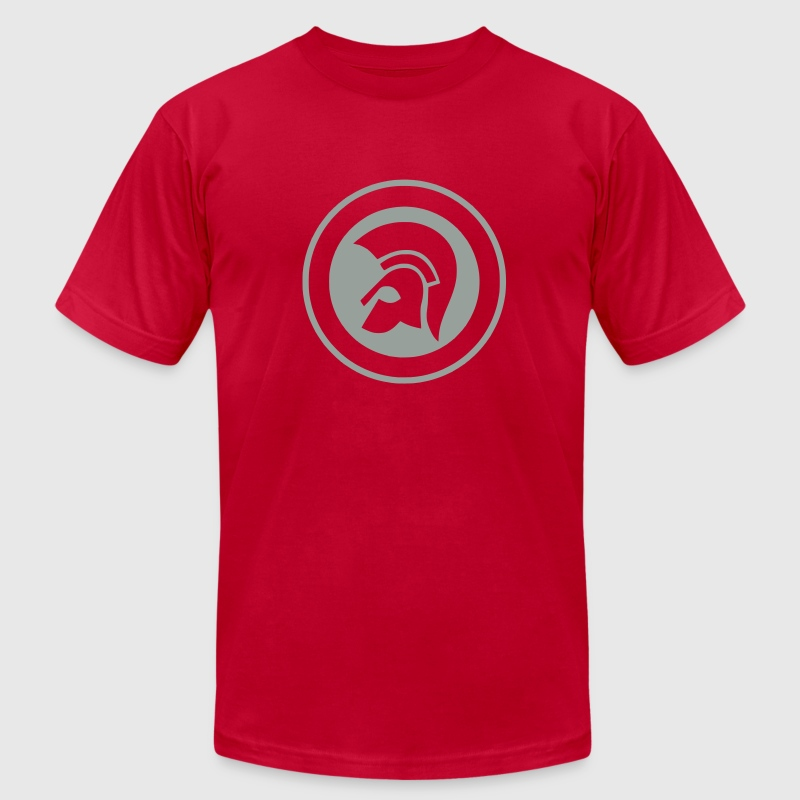 Trojan T-Shirts - Men's T-Shirt by American Apparel