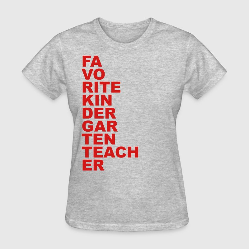 Favorite Kindergarten Teacher Women's T-Shirts - Women's T-Shirt