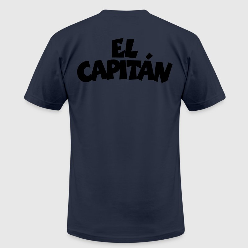 El Capitán T-Shirt (Navy/Back) - Men's T-Shirt by American Apparel