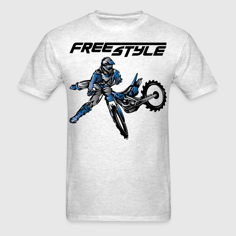 Yamaha Freestyle Dirt Biker T-Shirts - Men's T-Shirt