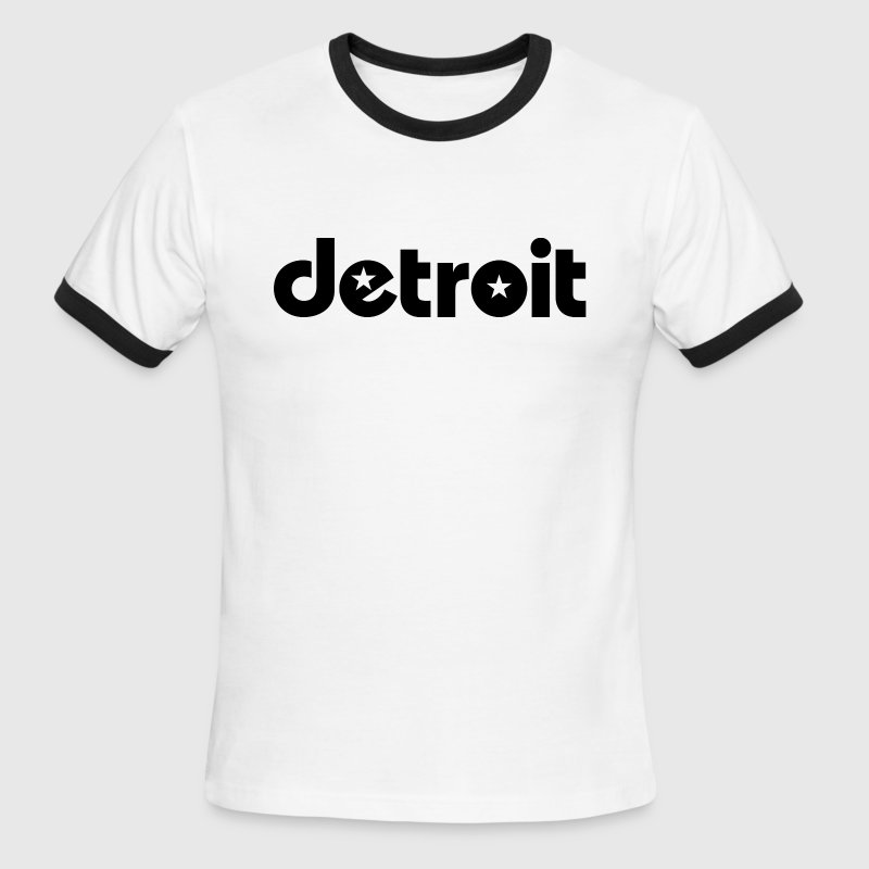 Detroit stars T-Shirts - Men's Ringer T-Shirt