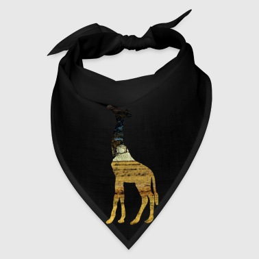 Giraffe in the steppe Bags & backpacks - Bandana