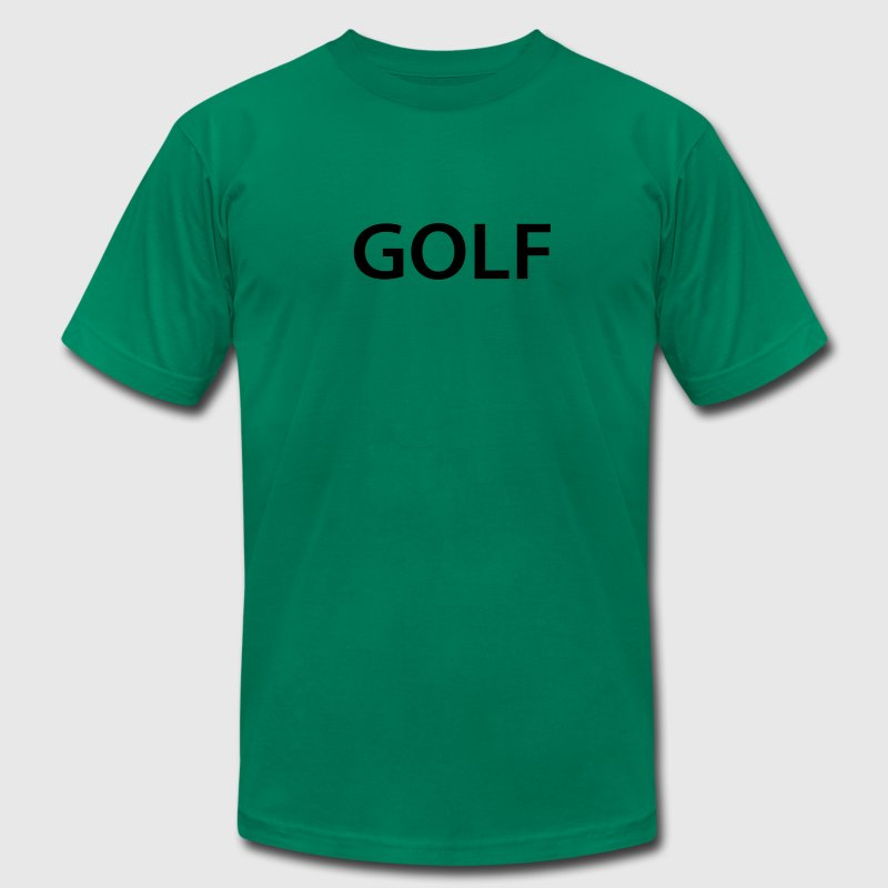 golf T-Shirts - Men's T-Shirt by American Apparel