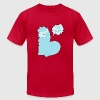 Eat Shit Alpaca - Blue T-Shirts - Men's T-Shirt by American Apparel