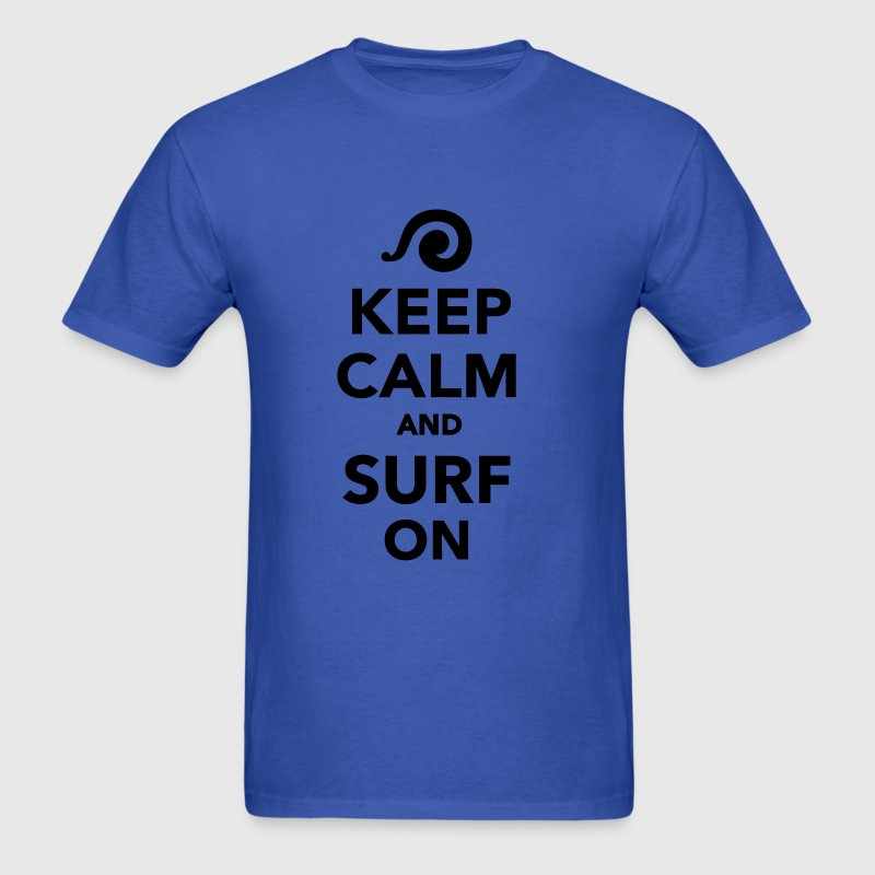 Keep calm and surf on T-Shirts - Men's T-Shirt