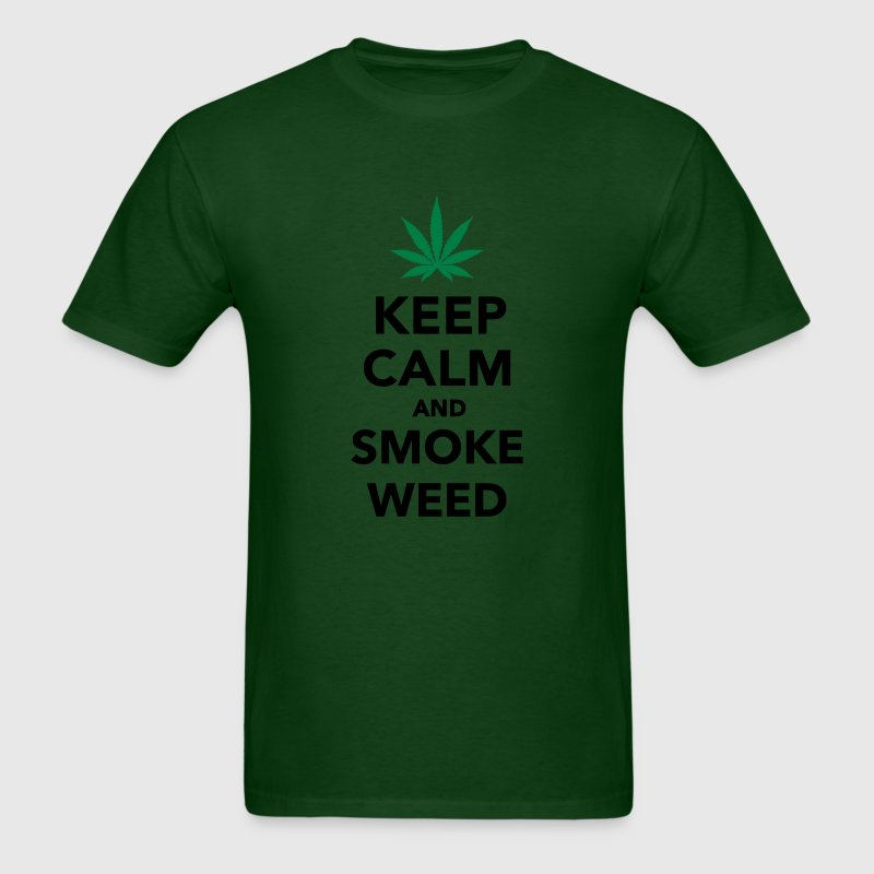 Keep calm and smoke weed T-Shirts - Men's T-Shirt