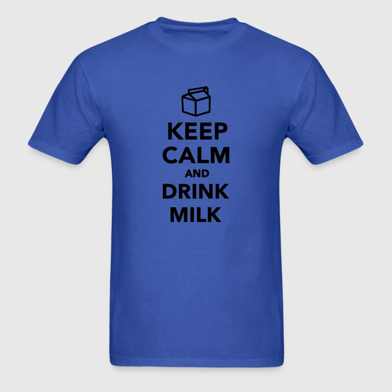 Keep calm and drink Milk T-Shirts - Men's T-Shirt