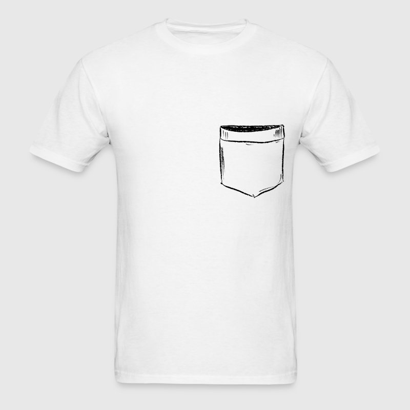 Pocket Drawing Comic T-Shirts - Men's T-Shirt