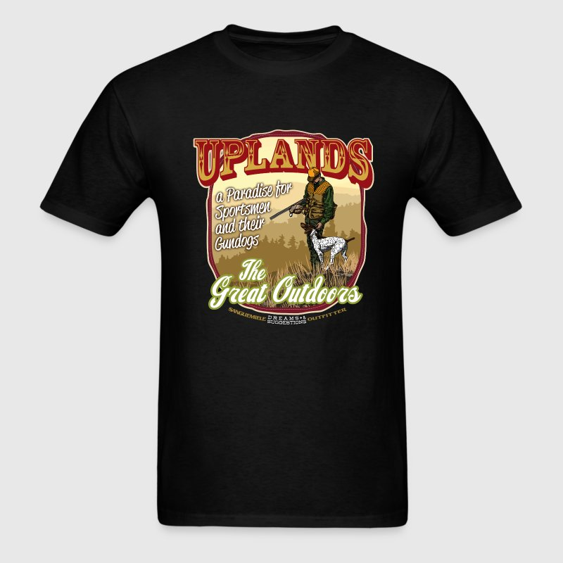 uplands_great_outdoor T-Shirts - Men's T-Shirt