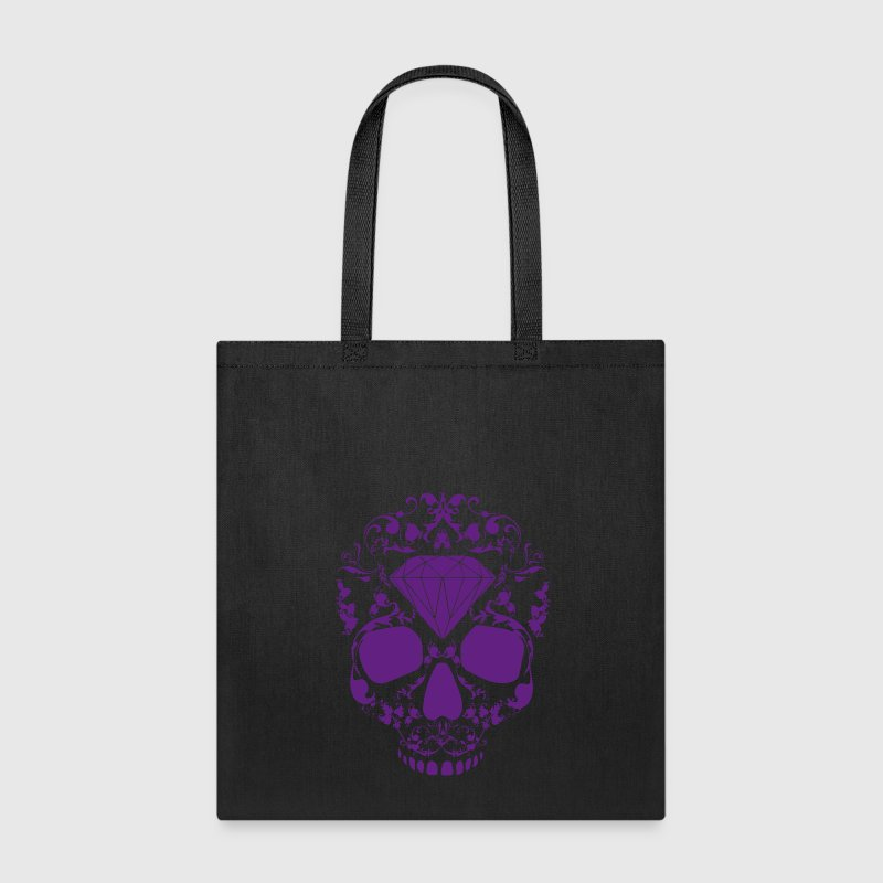 Diamond Skull Bags & backpacks - Tote Bag