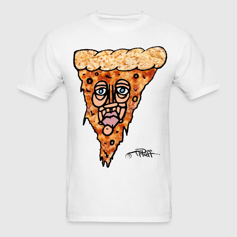 Pizza Face by Mike McPuff T-Shirts - Men's T-Shirt