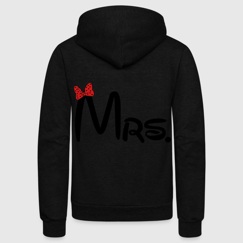 Mrs. Zip Hoodies & Jackets - Unisex Fleece Zip Hoodie by American Apparel