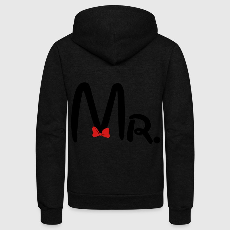 Mr. Zip Hoodies & Jackets - Unisex Fleece Zip Hoodie by American Apparel