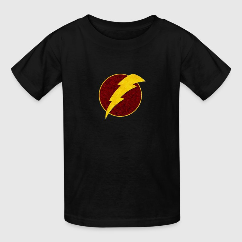 Retro Super Hero Lightning Bolt - Kids' T-Shirt
