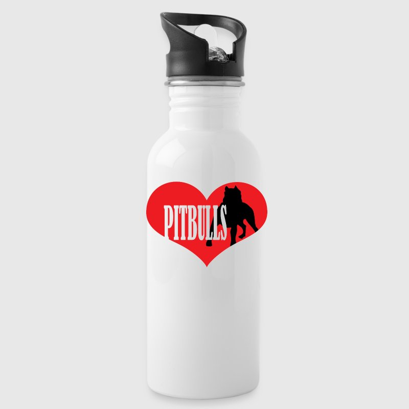 Love Pit Bulls - Water Bottle
