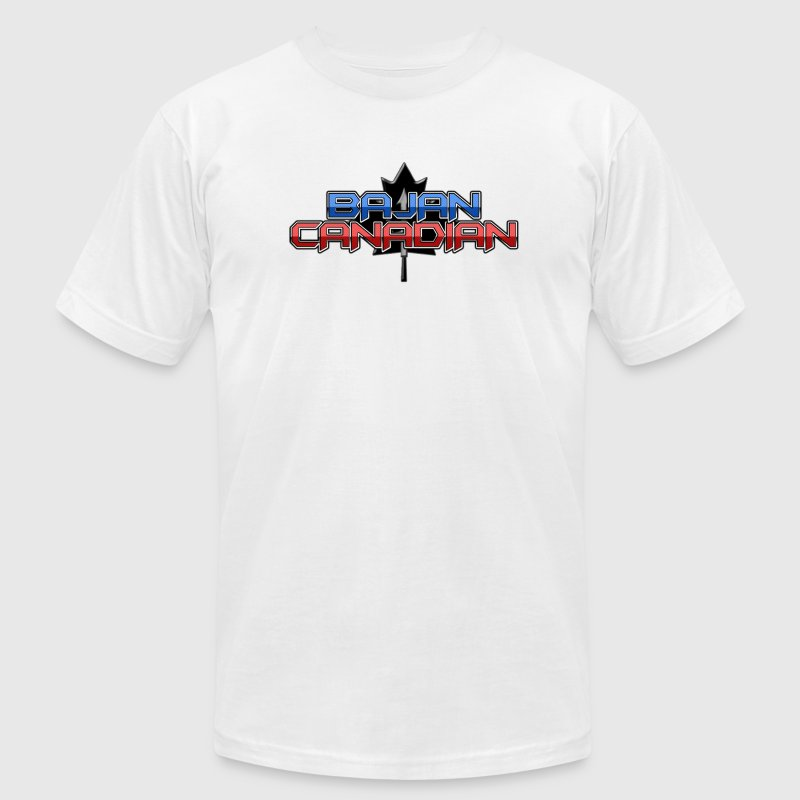Bajan Canadian T-Shirts - Men's T-Shirt by American Apparel