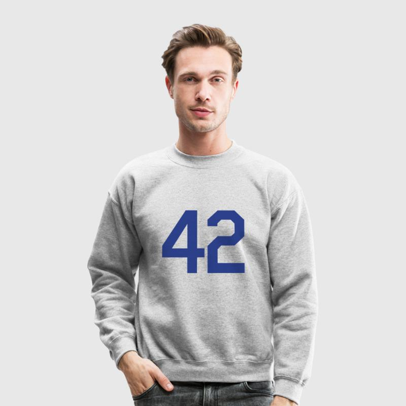 Jackie Robinson 42 Design Long Sleeve Shirts - Crewneck Sweatshirt