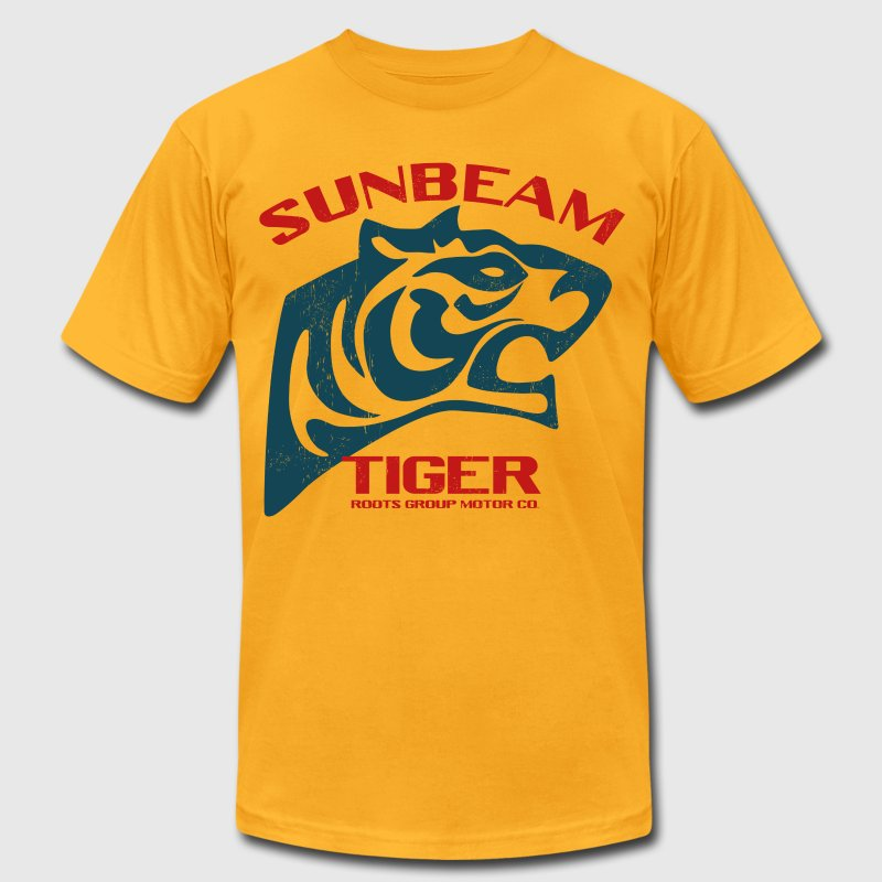 Sunbeam Tiger Cars T-Shirts - Men's T-Shirt by American Apparel