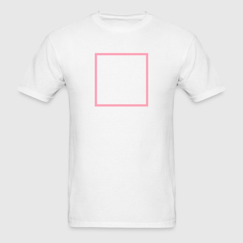 Square Outline T-Shirts - Men's T-Shirt