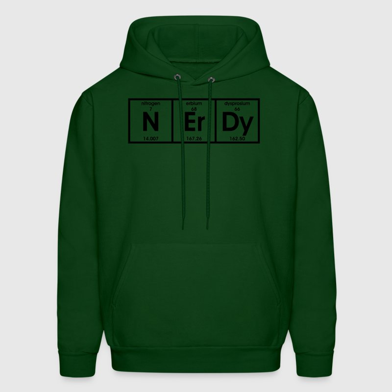 Nerdy Elements - Men's Hoodie