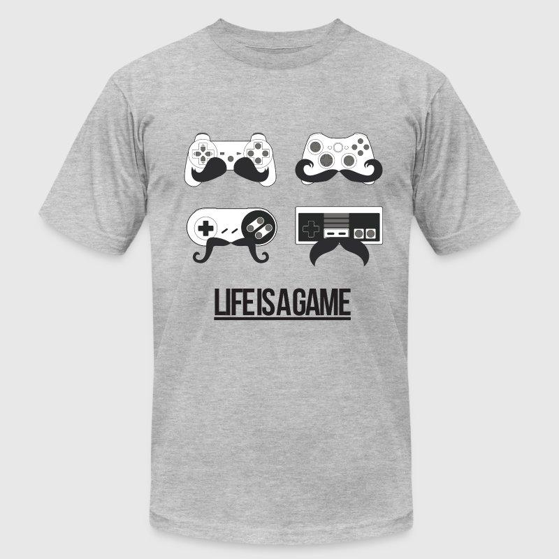 Life is a Game T-Shirts - Men's T-Shirt by American Apparel