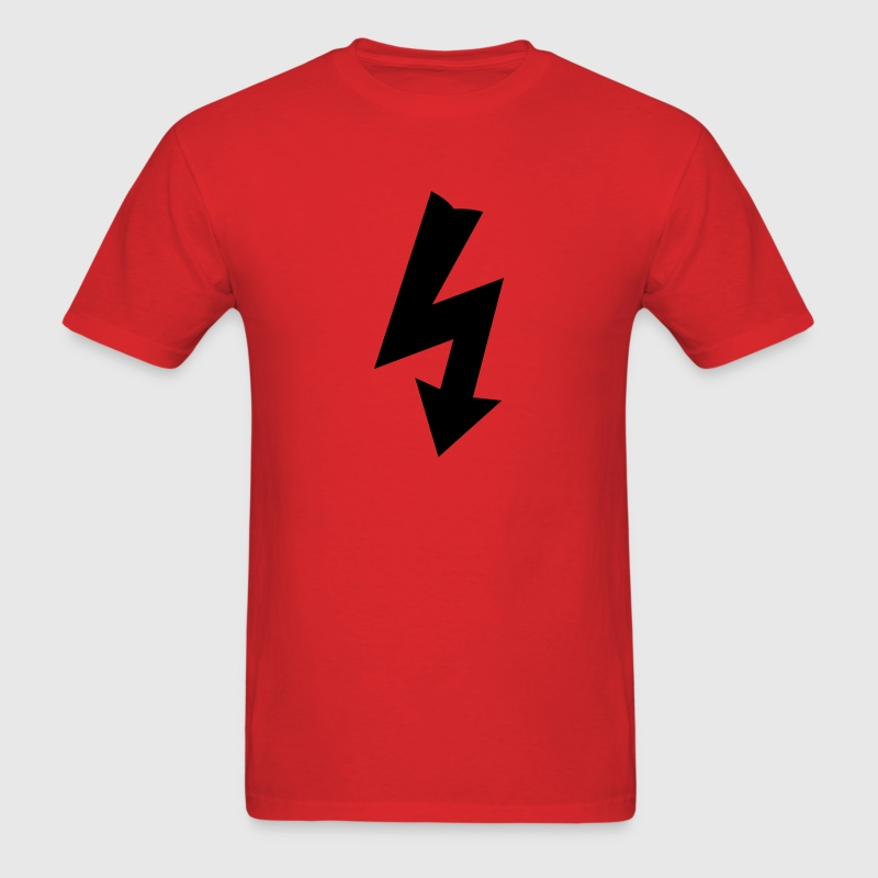 Symbol for Electricity T-Shirts - Men's T-Shirt
