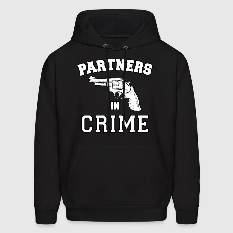 Partners In Crime Right Hoodies - Men's Hoodie