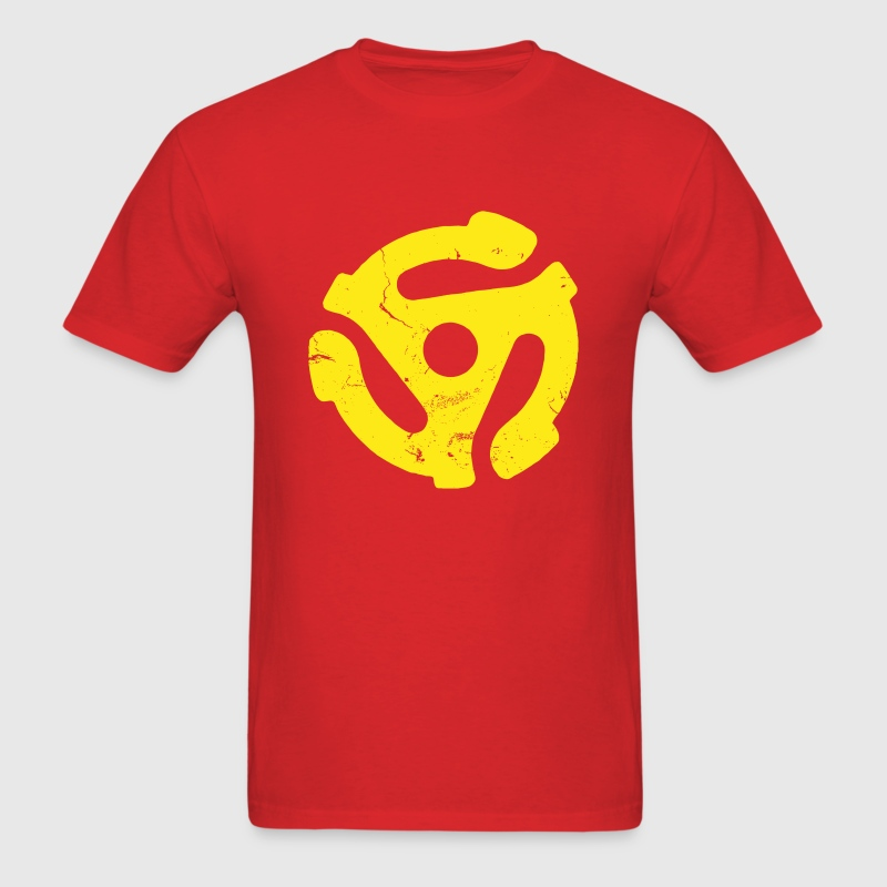 45 rpm spider vinyl - Men's T-Shirt