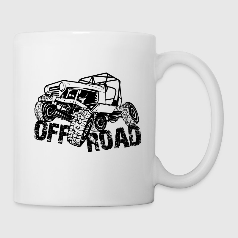 Off-Road 4x4 Jeep - Coffee/Tea Mug